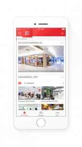 Hikvision Hik-Connect App Camera List