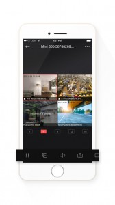 Hikvision Hik-Connect App Live View