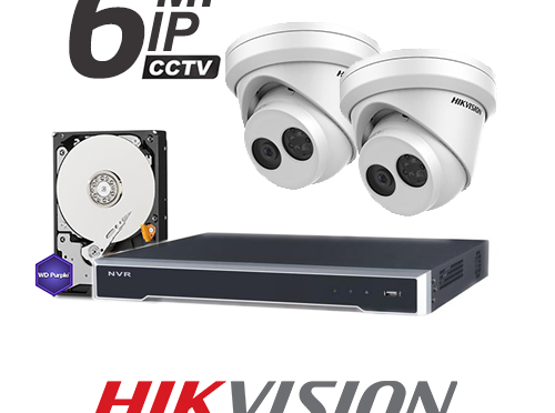 Hikvision 6MP CCTV Package